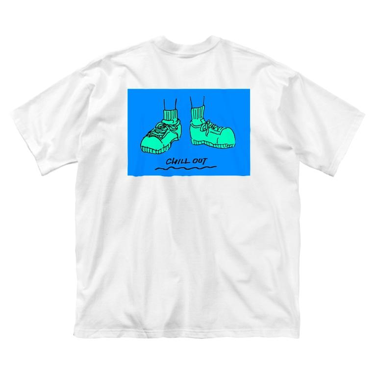 コ八ルのCHILL OUT Big T-shirts