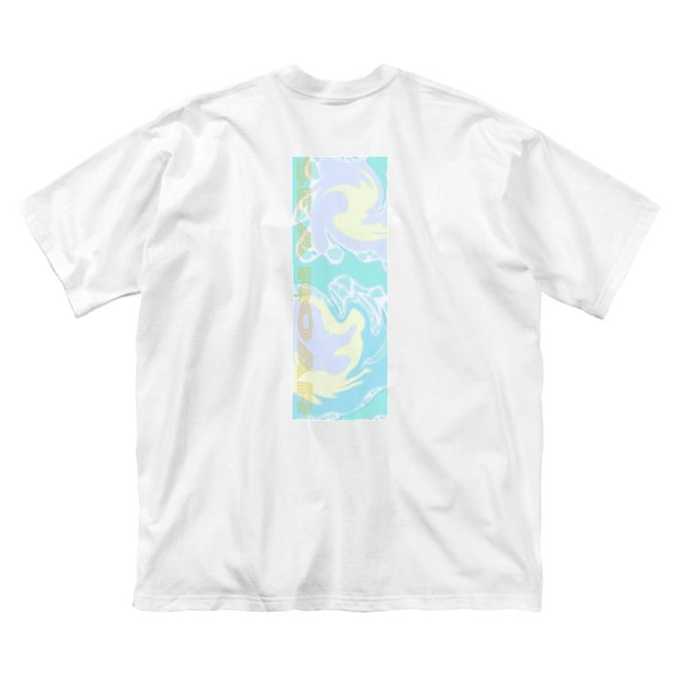 Searoarの海鳴りTシャツ Big silhouette T-shirts