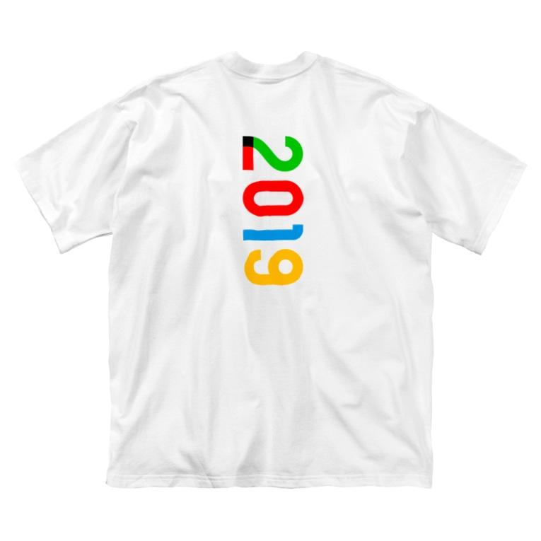 marikiroの2019_西暦 Big silhouette T-shirts