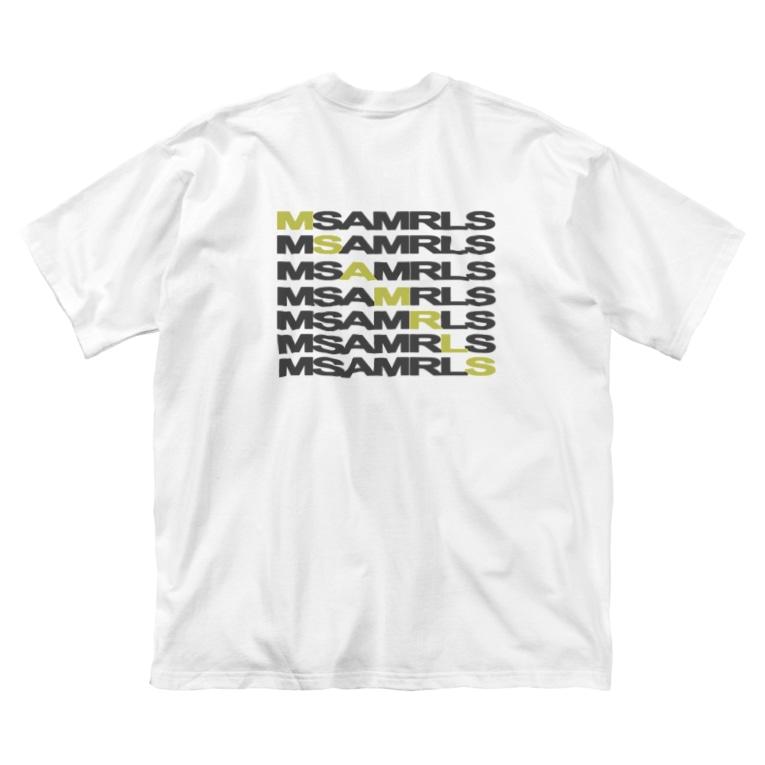 Ms Amaryllis のMs Amaryllis Width logo Big silhouette T-shirts