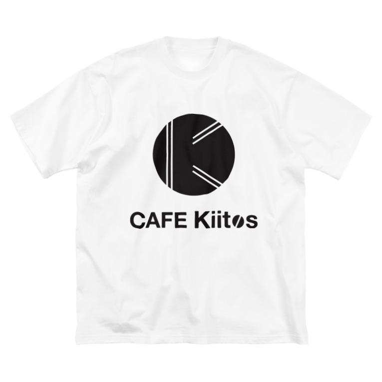 CAFEKiitosのtekkotsu(黒) Big silhouette T-shirts
