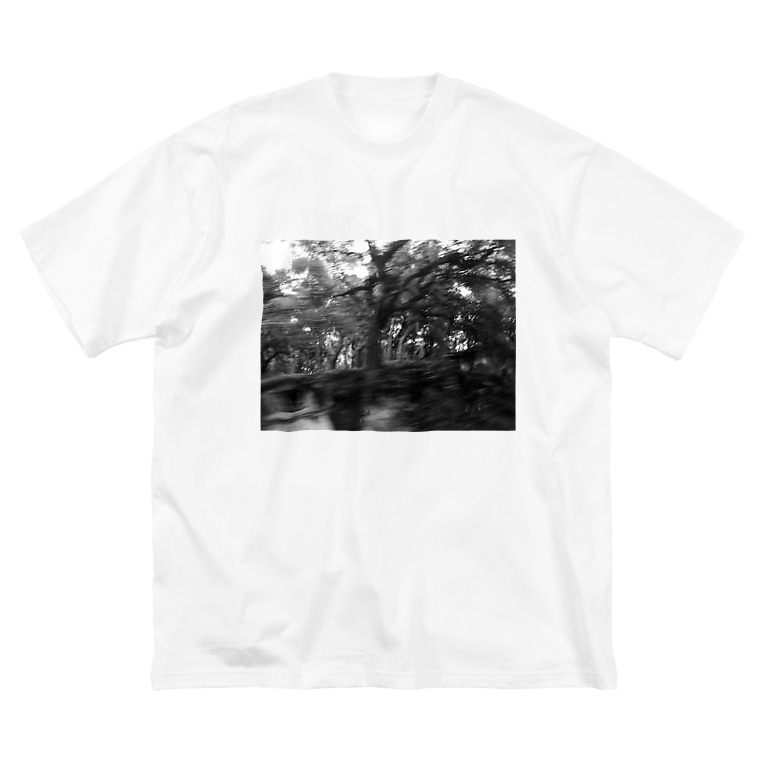 CTRL shopの今回混雑膨らむ This time the crowd swells Big silhouette T-shirts