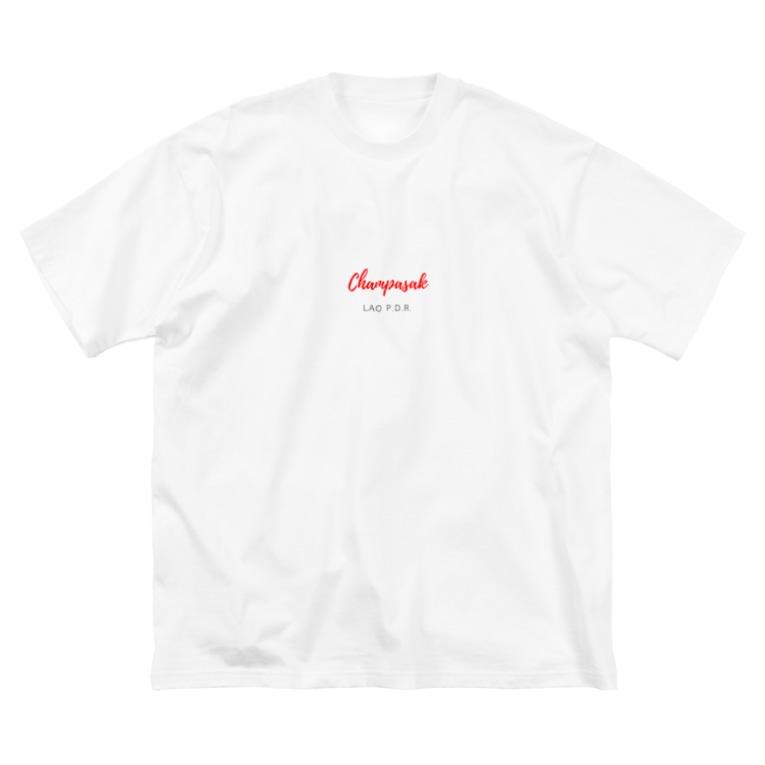 Dokmaiのチャンパーサック Big silhouette T-shirts