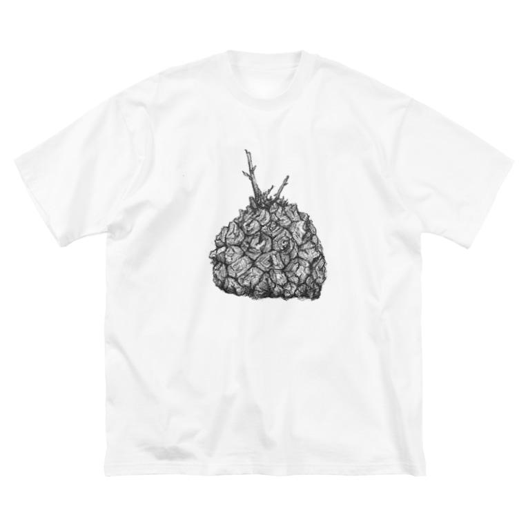 BARBOSSAのDioscorea elephantipes! Big silhouette T-shirts