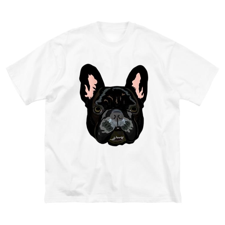 cosajisalutのANKO Big silhouette T-shirts