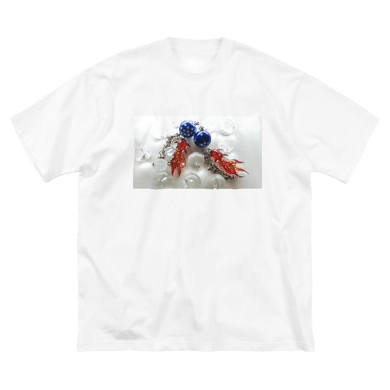 emadaの天川金魚 Big silhouette T-shirts