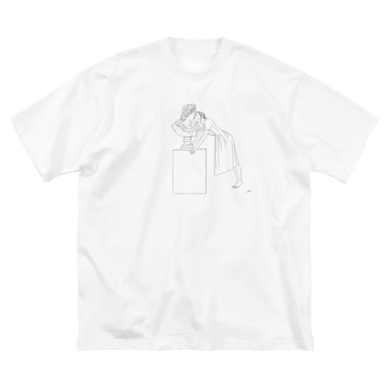 imuukiの【imuuki   sae】Kiss Big silhouette T-shirts