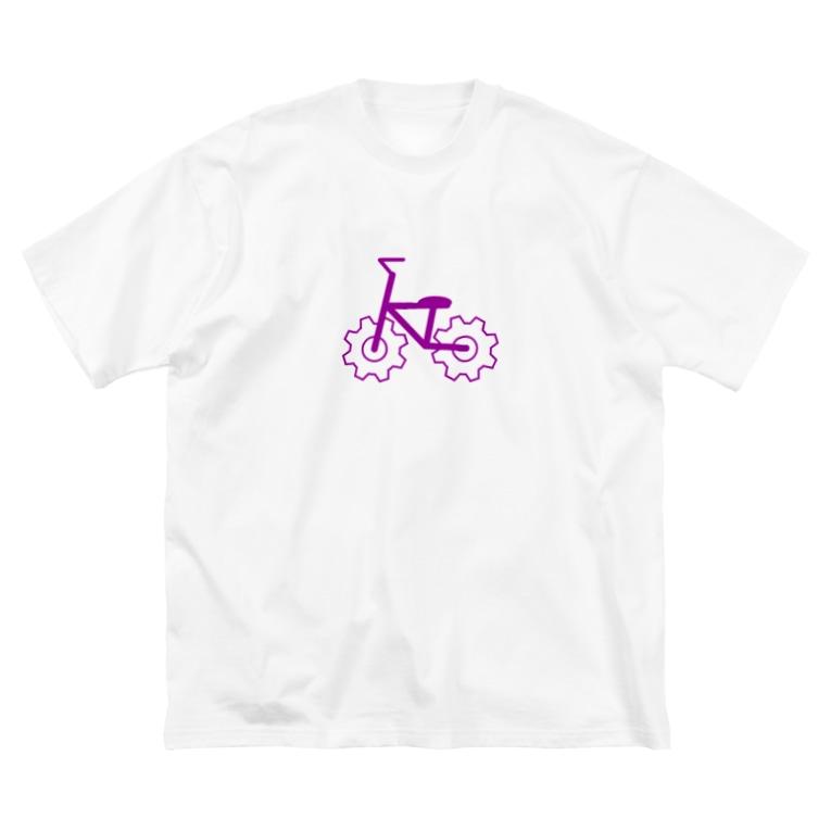 harsouthernのchk-01-003 Big silhouette T-shirts
