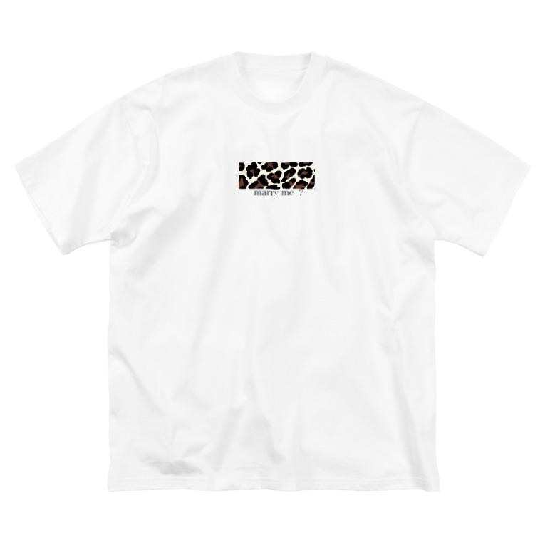 chankanaofficialの、 Big silhouette T-shirts