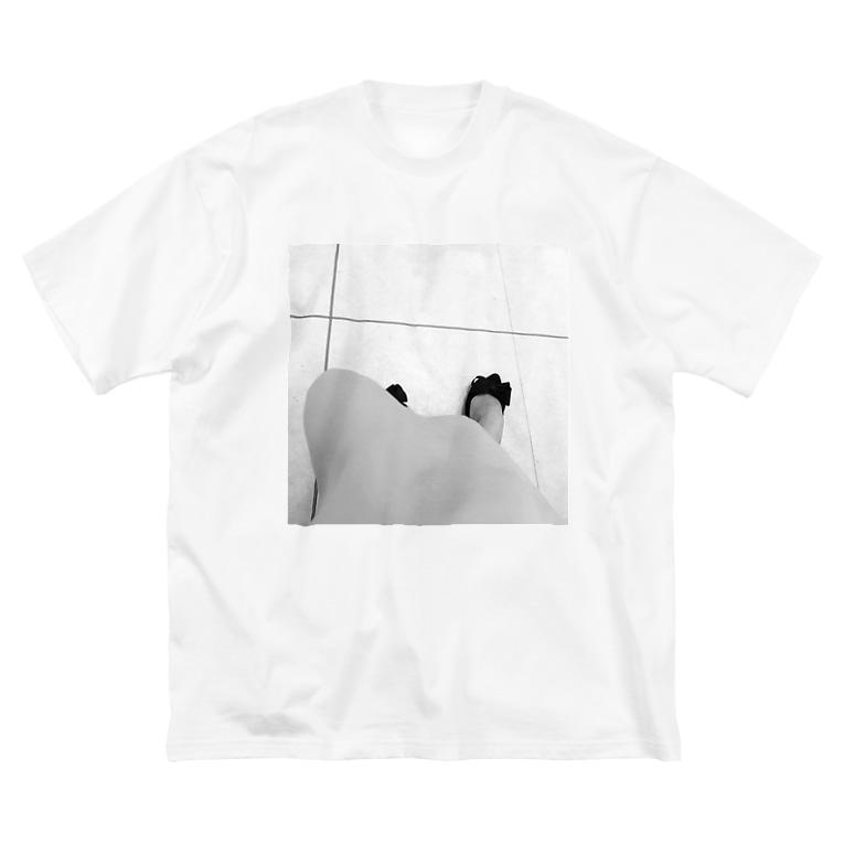 JADEM BALLETのmonochrome Big silhouette T-shirts