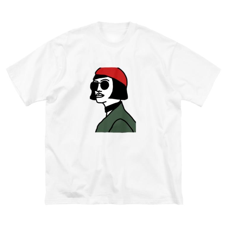 a_by_atelierのgirls 2 Big silhouette T-shirts