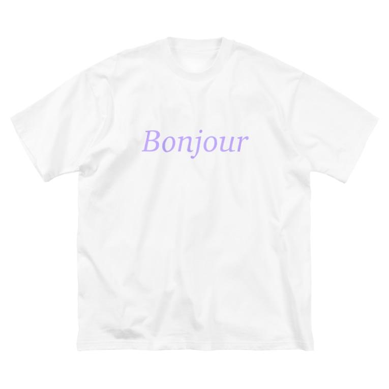 Juli MeerのBonjour Big silhouette T-shirts
