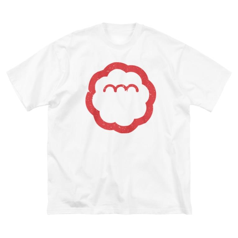 エンエンラのエンエンラ シンボルロゴ(赤) Big silhouette T-shirts