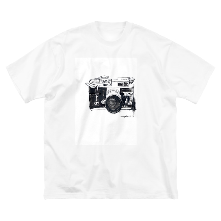Gallery Foopaiのカメラ Big silhouette T-shirts
