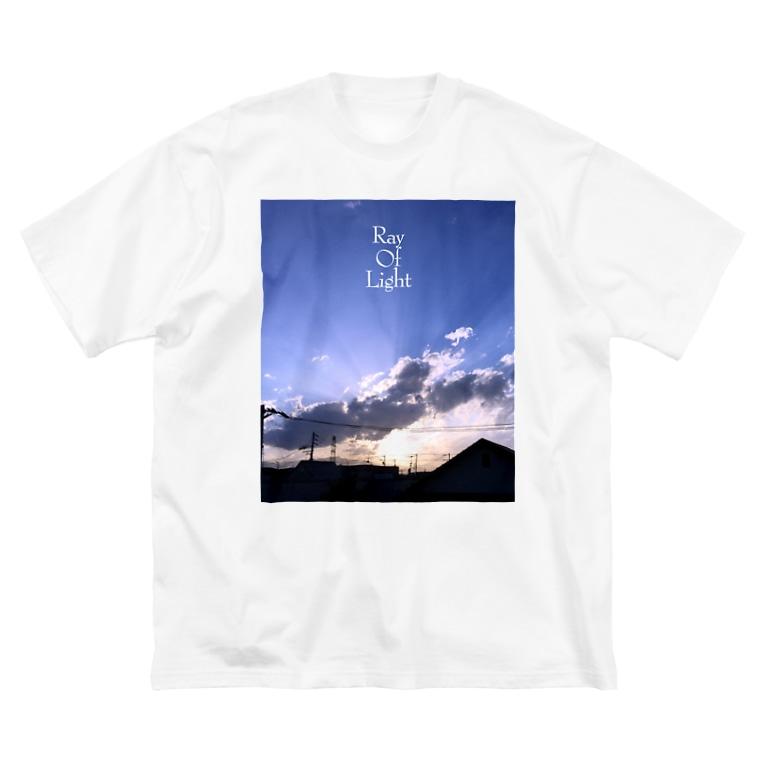 TAK-DesignのRay Of Light Big silhouette T-shirts