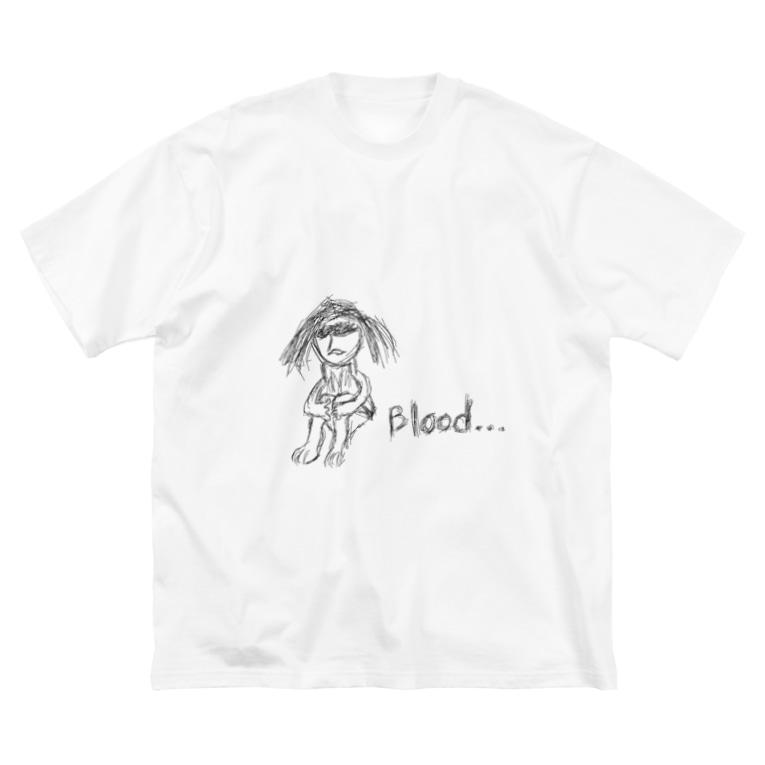 のりこのBIood... Big silhouette T-shirts