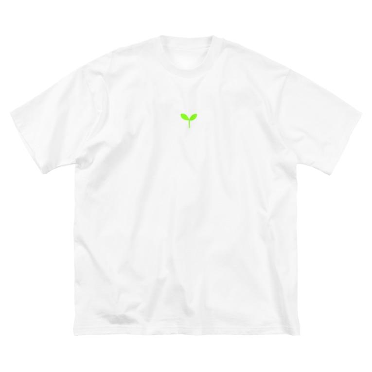 NPO法人NEXT CONEXIONのこどもの芽 Big silhouette T-shirts