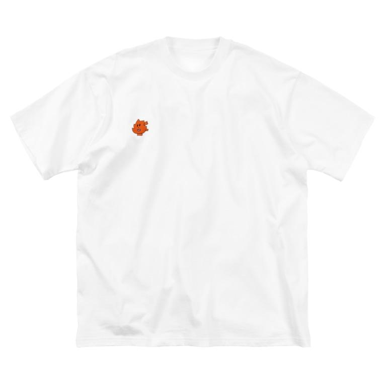 小西こに -Konishi Koni-の楓マン Big silhouette T-shirts