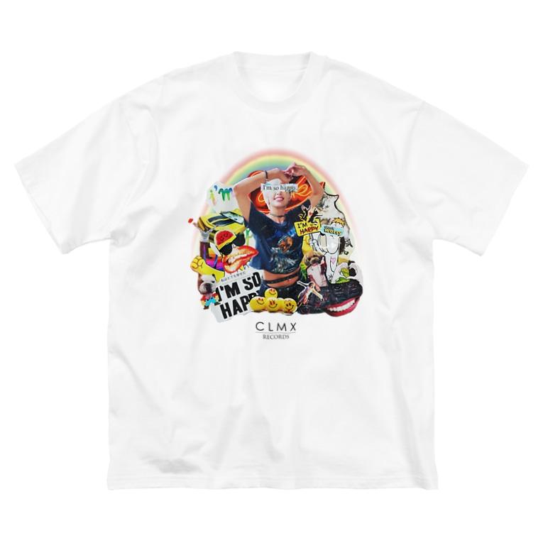 "NEXT LEVEL(s)の""I'm So HAPPY"" WEAR from Next Level(s) Big silhouette T-shirts"