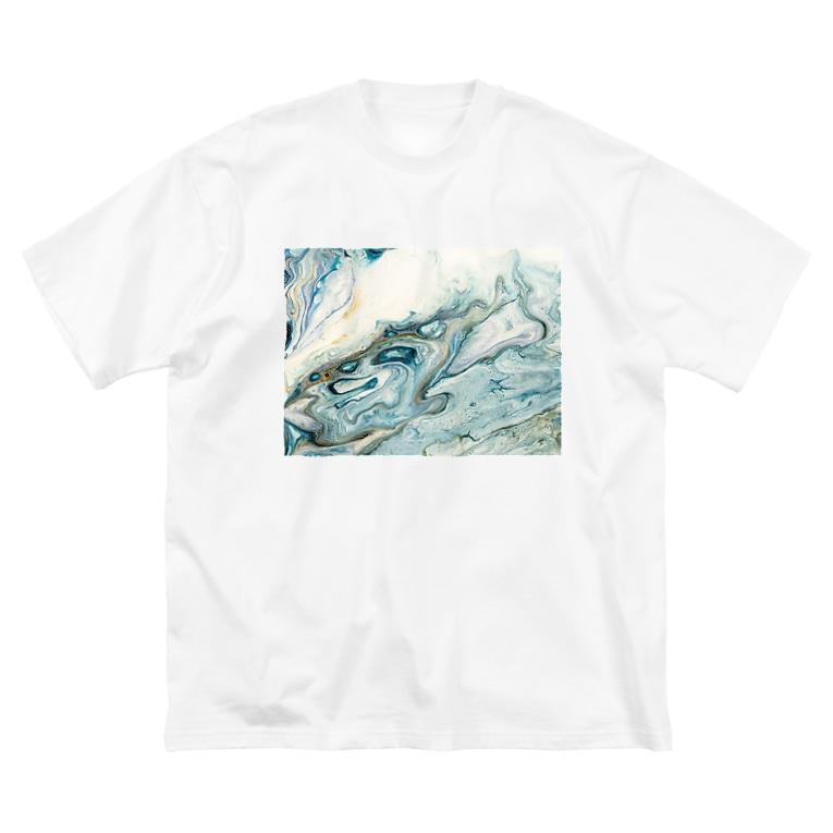 kiyoraの閑静 Big silhouette T-shirts