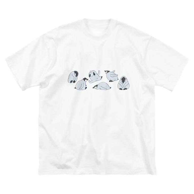マツザキユキのエンペラーヒナちゃんコロンと! Big Silhouette T-Shirt