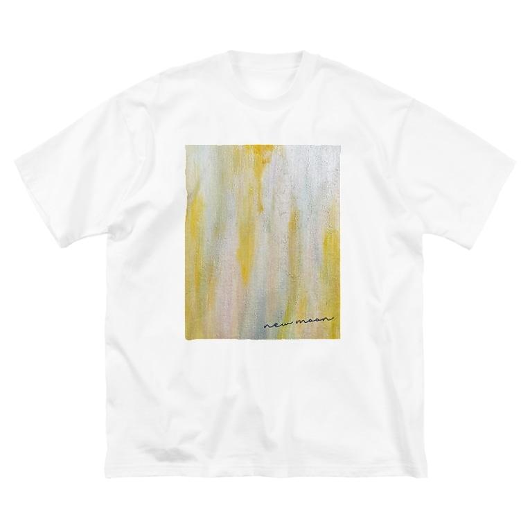 ふちこのnew moon Big Silhouette T-Shirt