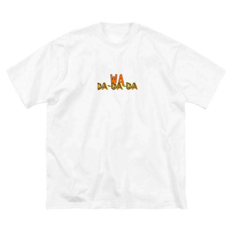 UNFINISHEDのI.am Kenjiman Big silhouette T-shirts