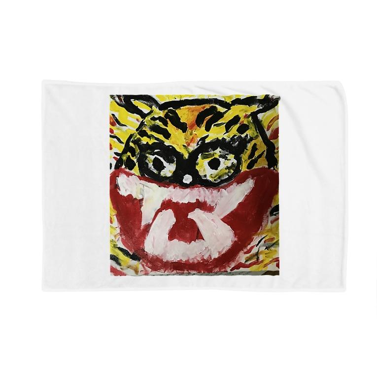 kida_guzzの怒ってる虎 Blankets