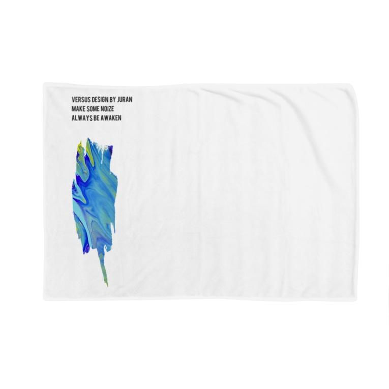 VERSUS® Design by 𝙅𝙪𝙍𝙖𝙣®のVERSUS® Dripping work Blankets