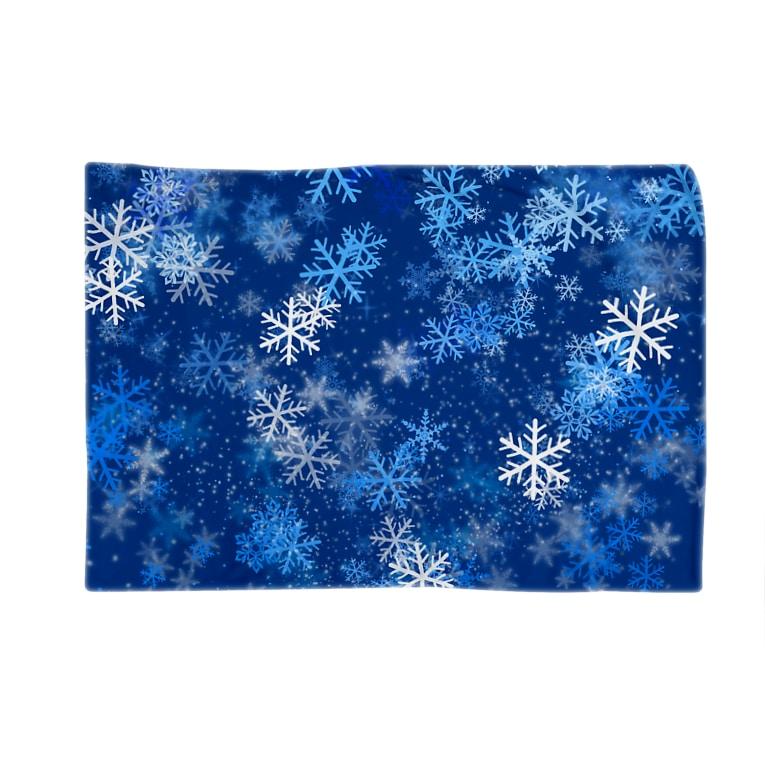 Shop-TSUMIKIのラブリースノウ Blankets
