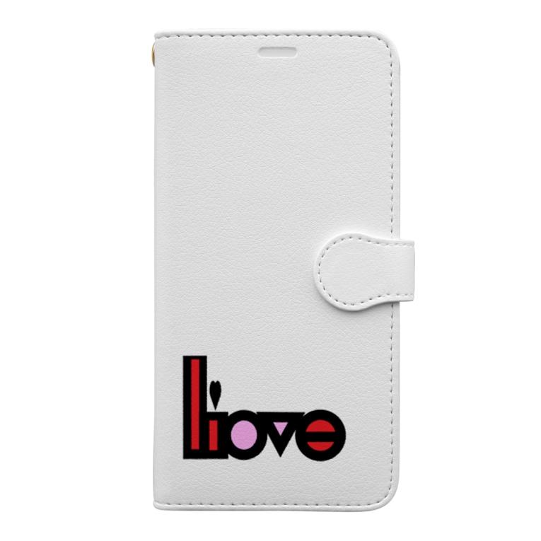 aska_mmの愛と嘘パート2 Book-style smartphone case