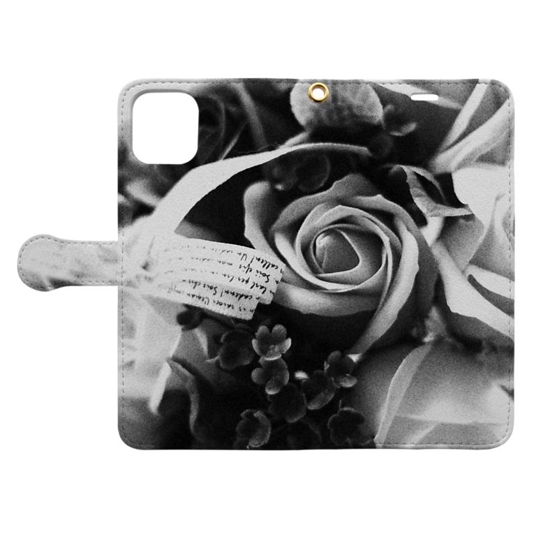 トキメキの結晶の贈り物 Book-style smartphone caseを開いた場合(外側)