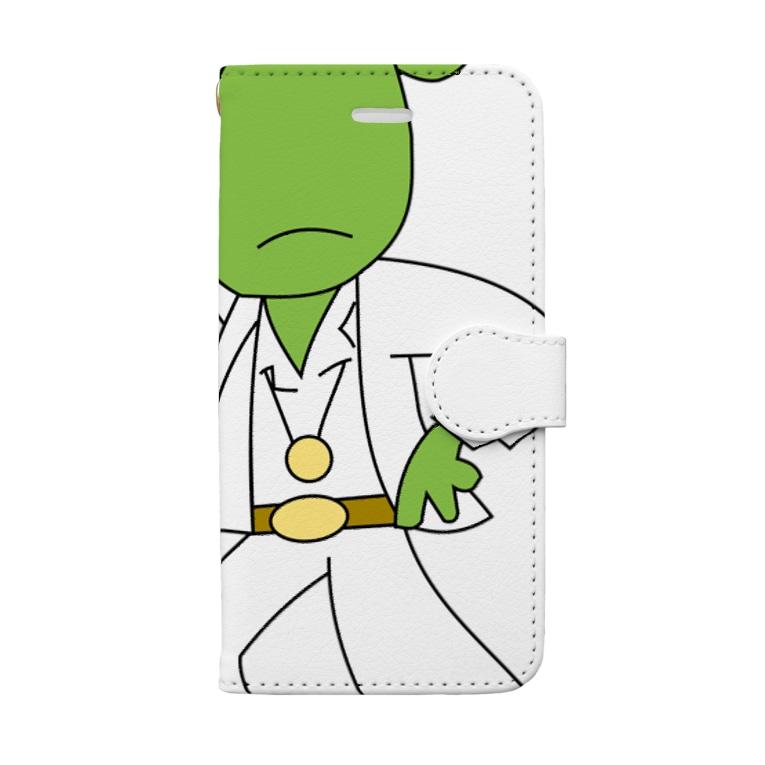 Patmaru WorksのDISCO FROGBERT Book-style smartphone case