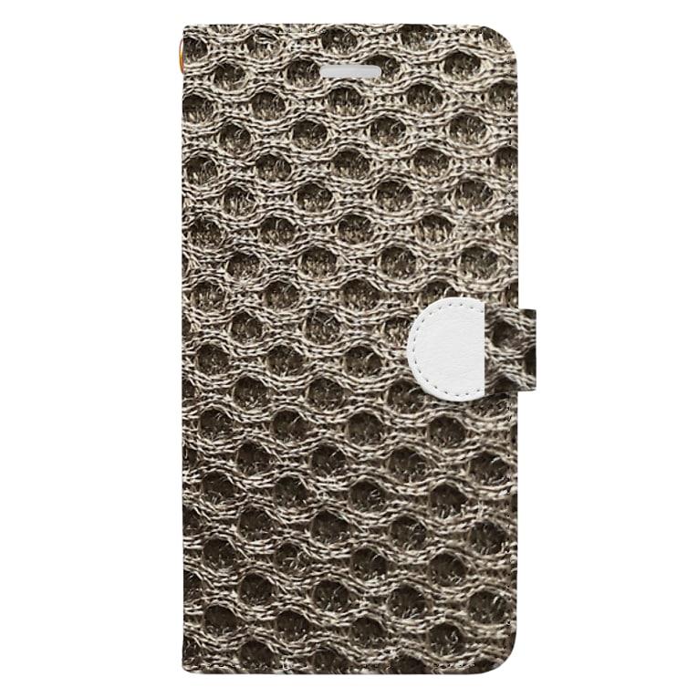 TABERU WSの素材 Book-style smartphone case