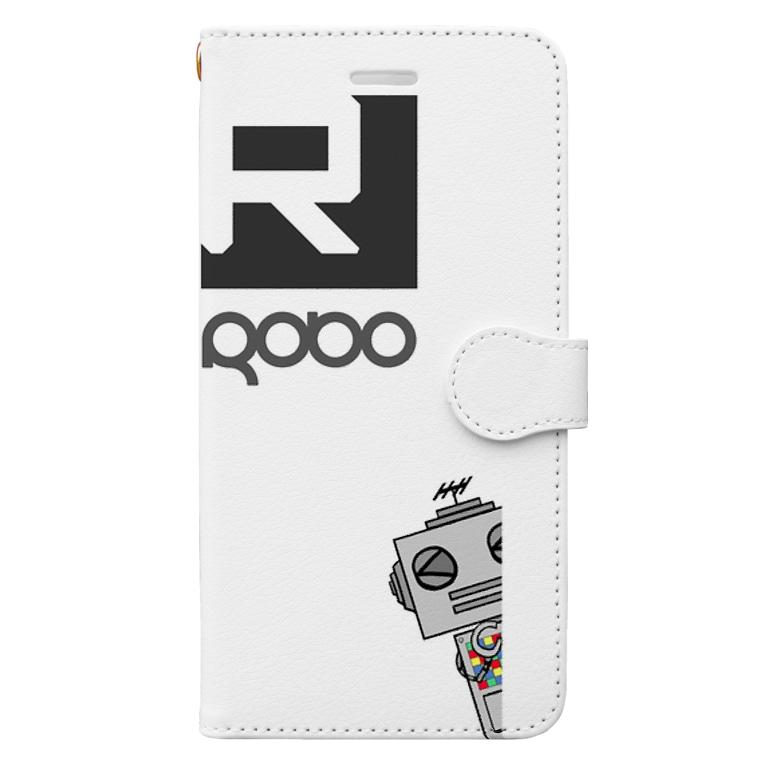 alma-gemeaのiphone  ロボケース Book-style smartphone case