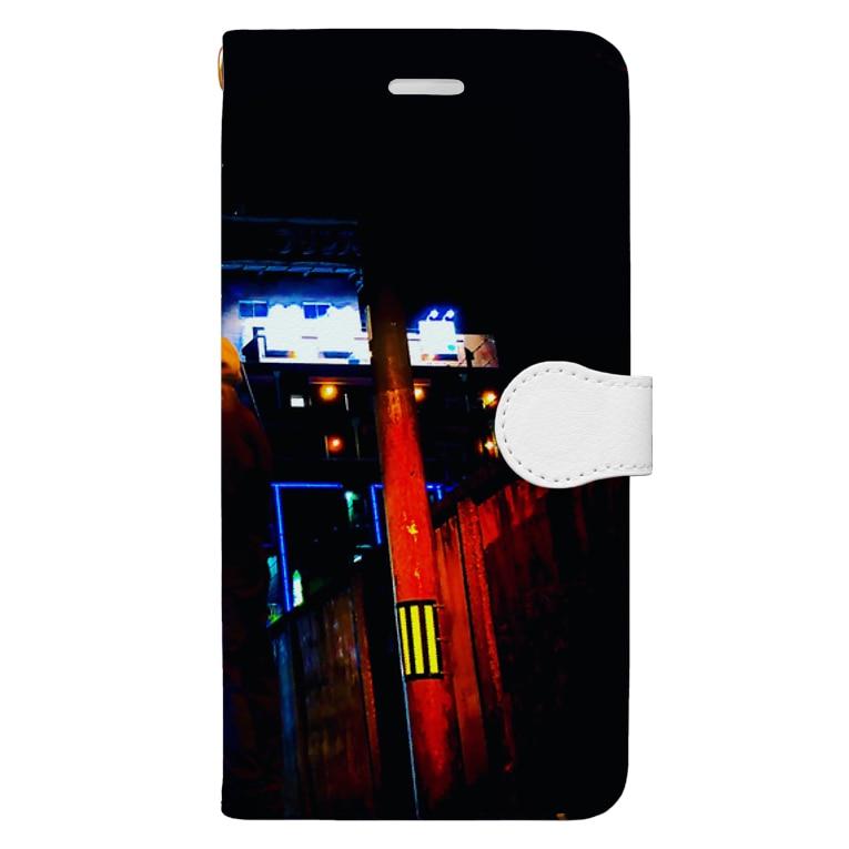 HenDrixxx StoReのOsakaPinkGuide2019 Book-style smartphone case