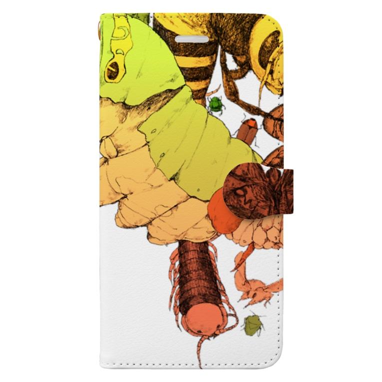 マホロバの虫3 Book-style smartphone case