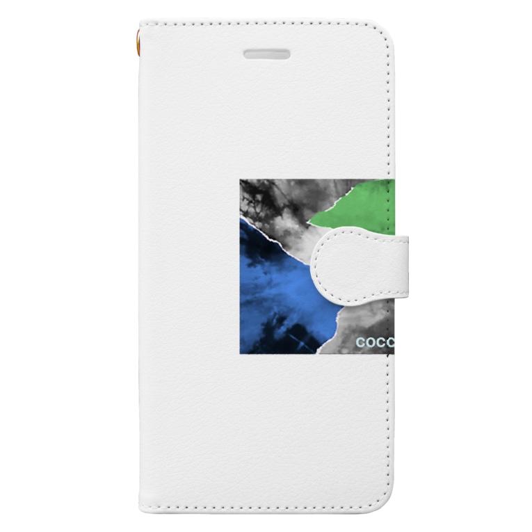 こっこさんのCOCCO・C4 Book-style smartphone case