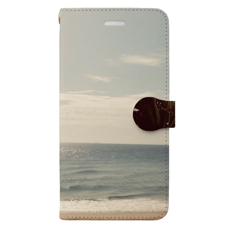 OmShantiのSunshine beach Book-style smartphone case