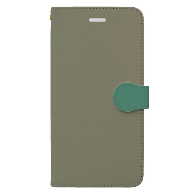 アトリエエキパ iPhoneケース専門支店の深い森~Deep woods~ Book-Style Smartphone Case