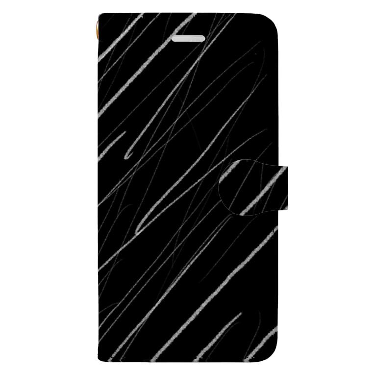 Rock Style Hero Originの五月雨 Book-style smartphone case