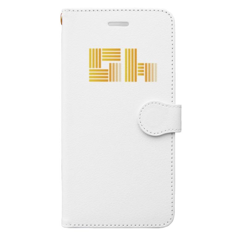 Golden Harvest BeerのGH Logo Book-style smartphone case