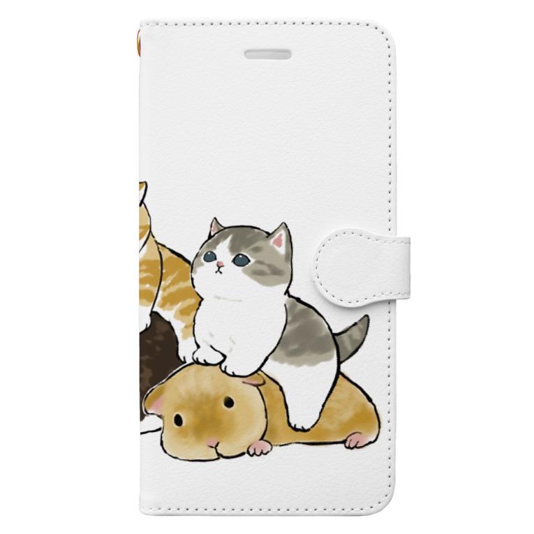 mofusandのモルモット試乗会 Book-style smartphone case