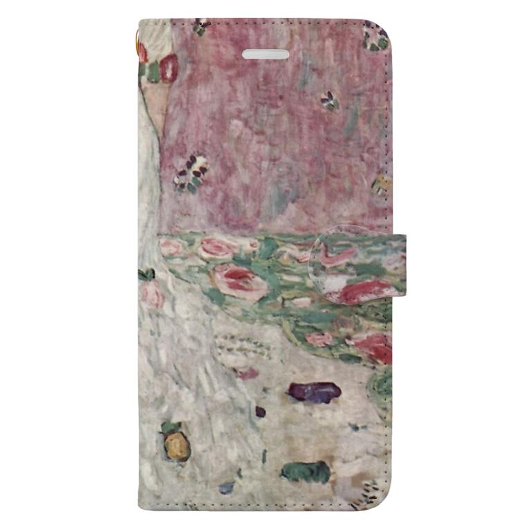 art-standard(アートスタンダード)のグスタフ・クリムト(Gustav Klimt) / 『メーダ・プリマヴェージ』(1912年) Book-Style Smartphone Case