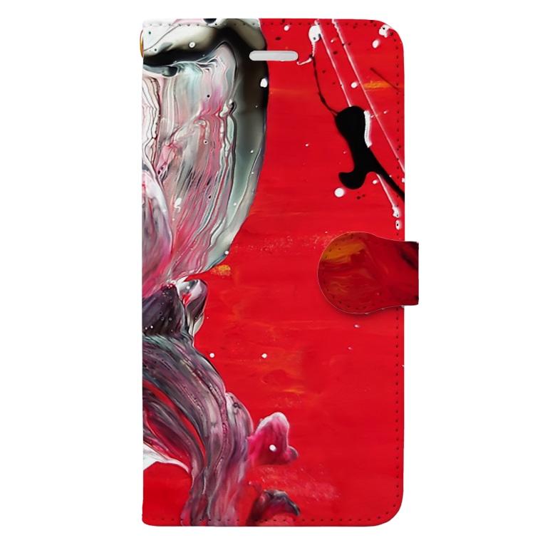 斑曇洸のPv Book-style smartphone case