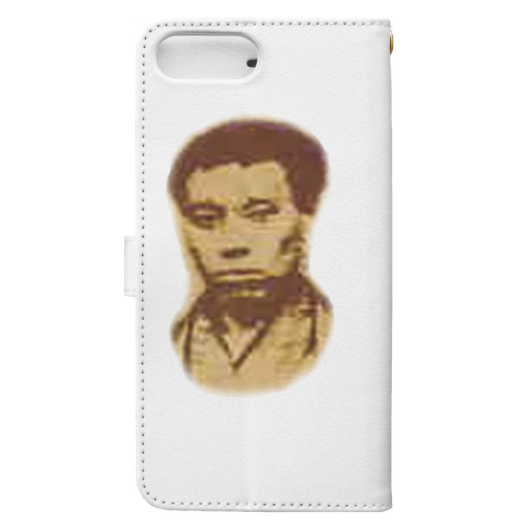 AAAstarsの高杉晋作 Book-style smartphone caseの裏面