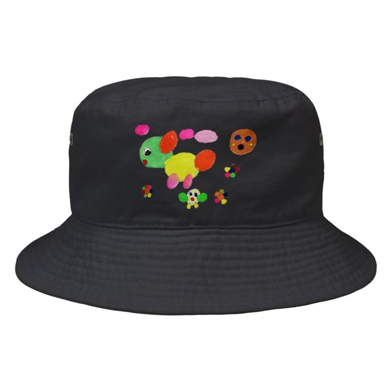 Free rougeのエンカラな世界 Bucket Hat