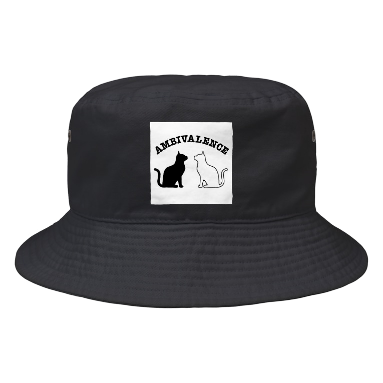 ambivalence official goodsのアンビバキャットバケット帽 Bucket Hat