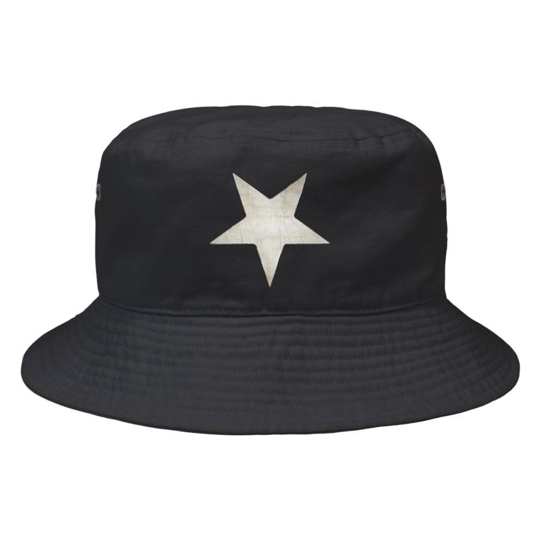 ゆうのInverted Blurstar Bucket Hat