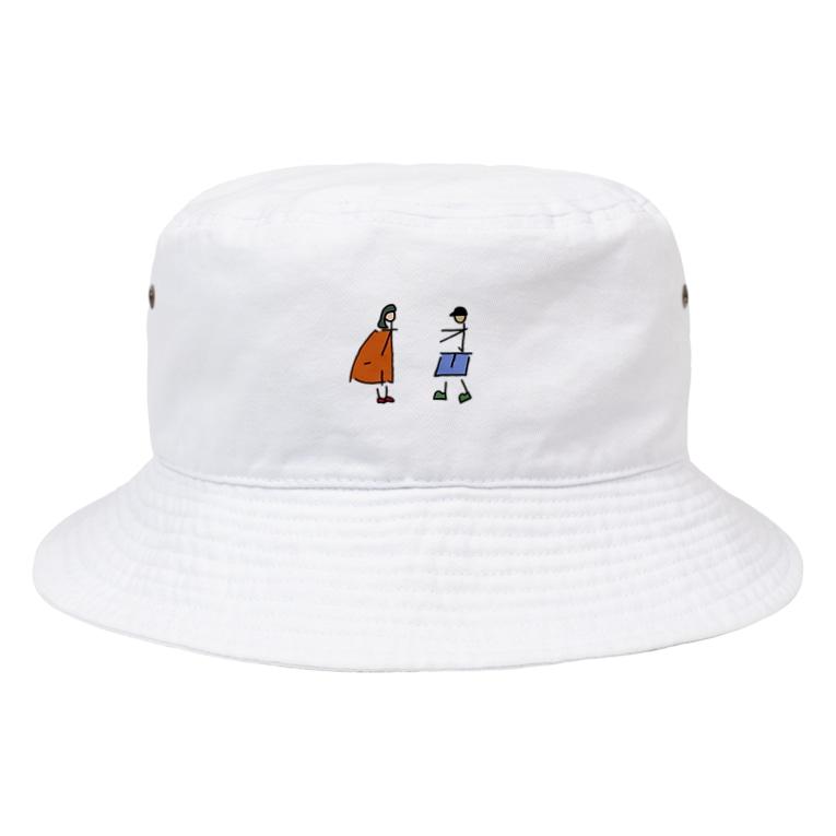 AnnaSonnaDonnaのオトコそしてオンナ Bucket Hat